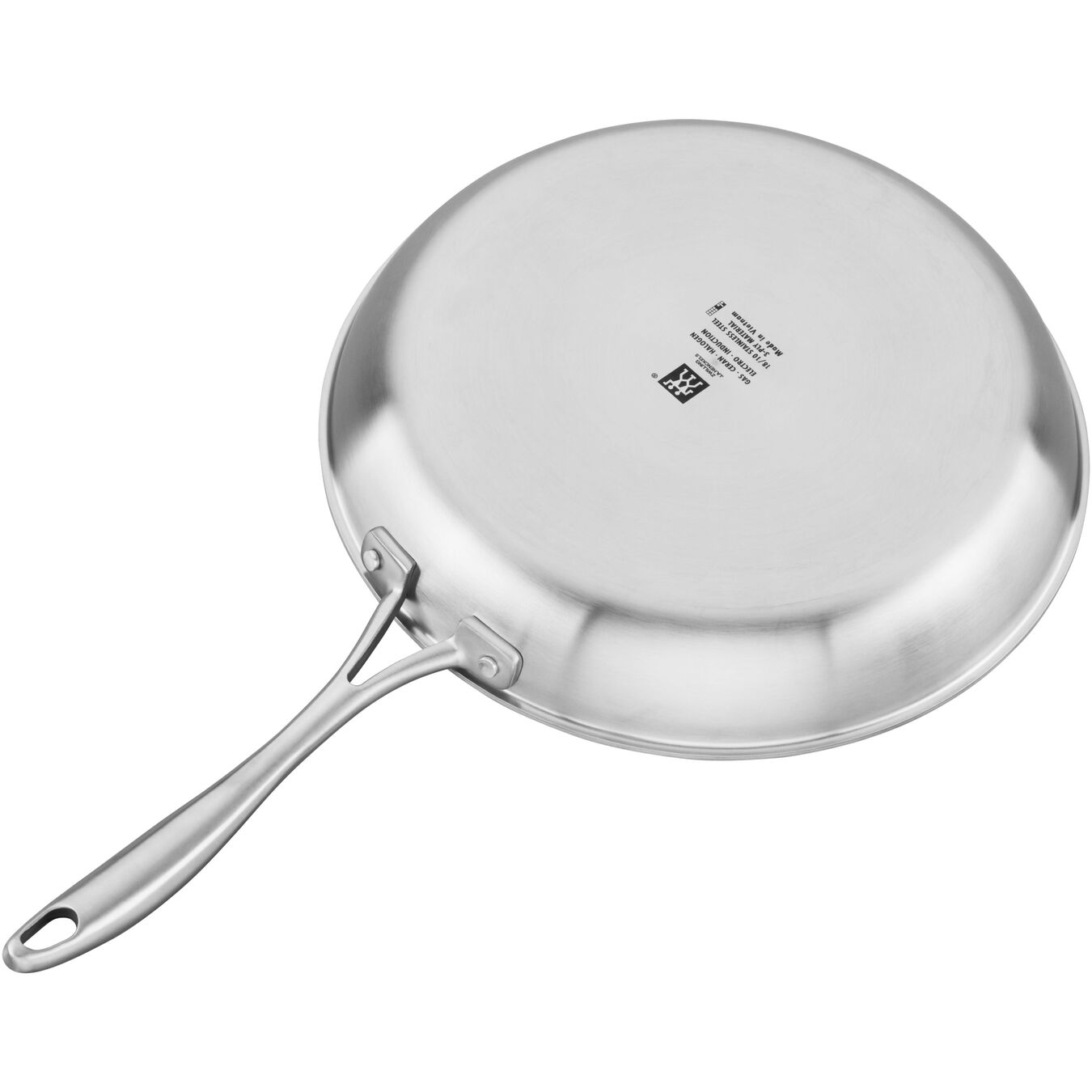 3 Ply, 12-inch, 18/10 Stainless Steel, Ceramic, Frying pan,,large 3