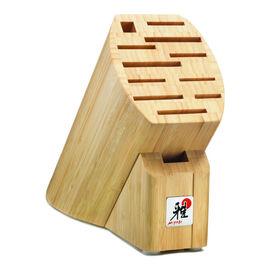 MIYABI Accessories, 12-slot Bamboo Knife Block