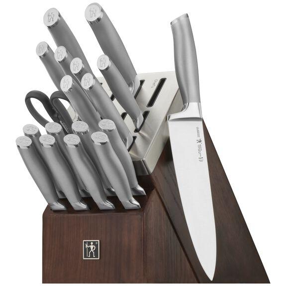 20-pc Self-Sharpening Knife Block Set, , large