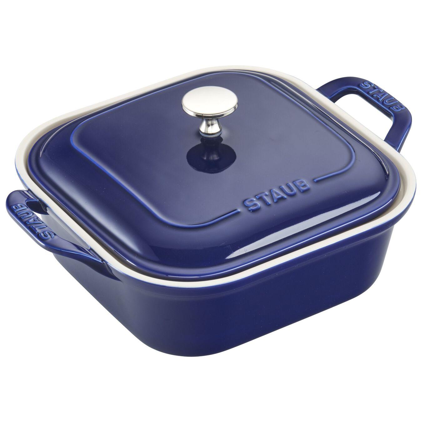 4-pc Baking Dish Set - Dark Blue,,large 5