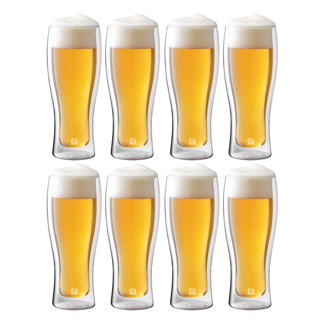 8 Piece Beer Glass Set - Value Pack,,large 2