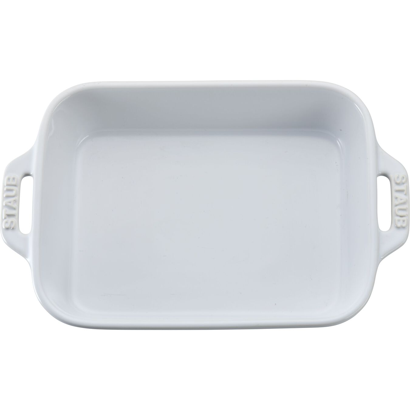 8-inch, rectangular, Special shape bakeware, white,,large 3