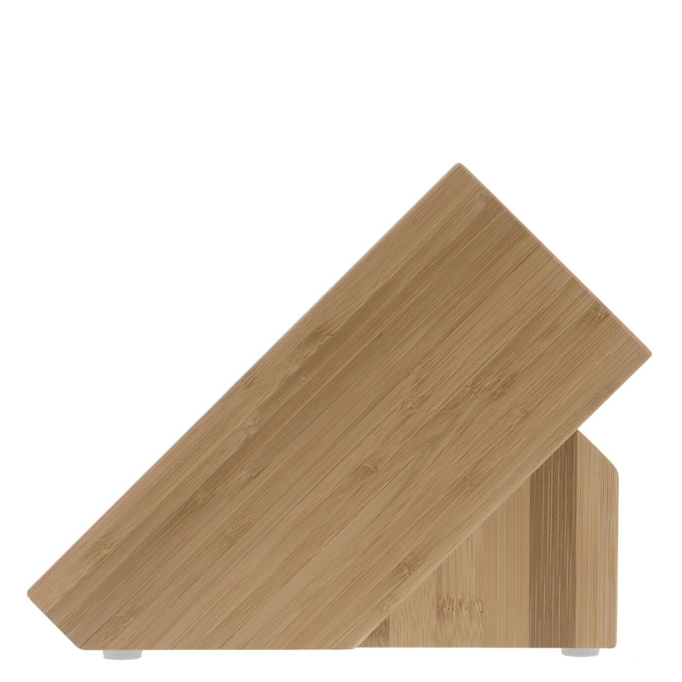 bamboo, TWIN Knife block empty,,large 5