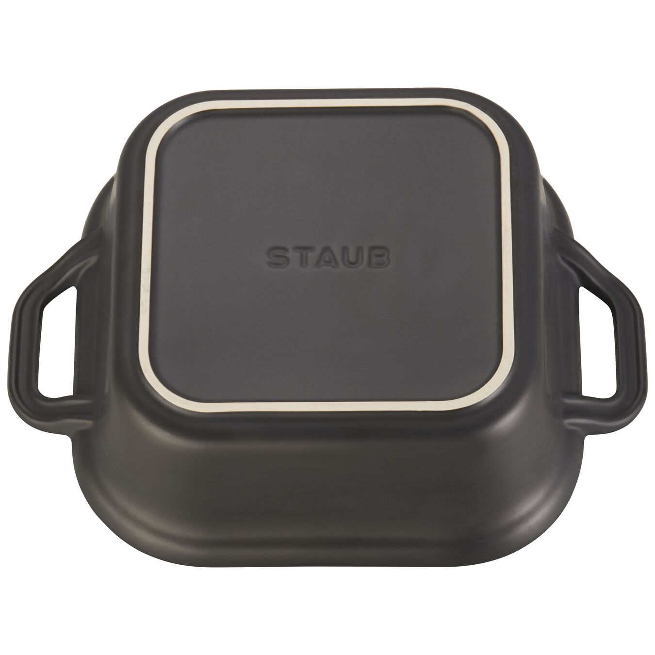 9-inch X 9-inch Square Covered Baking Dish - Matte Black,,large 4