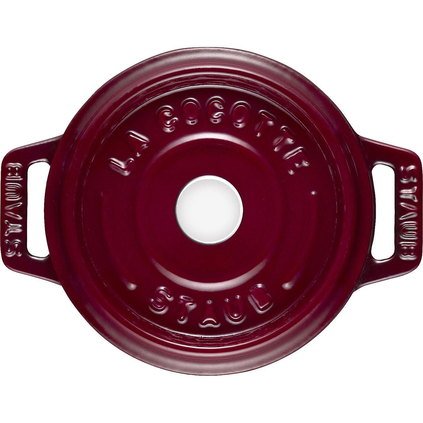 250 ml Cast iron round Mini Cocotte, Bordeaux,,large 3