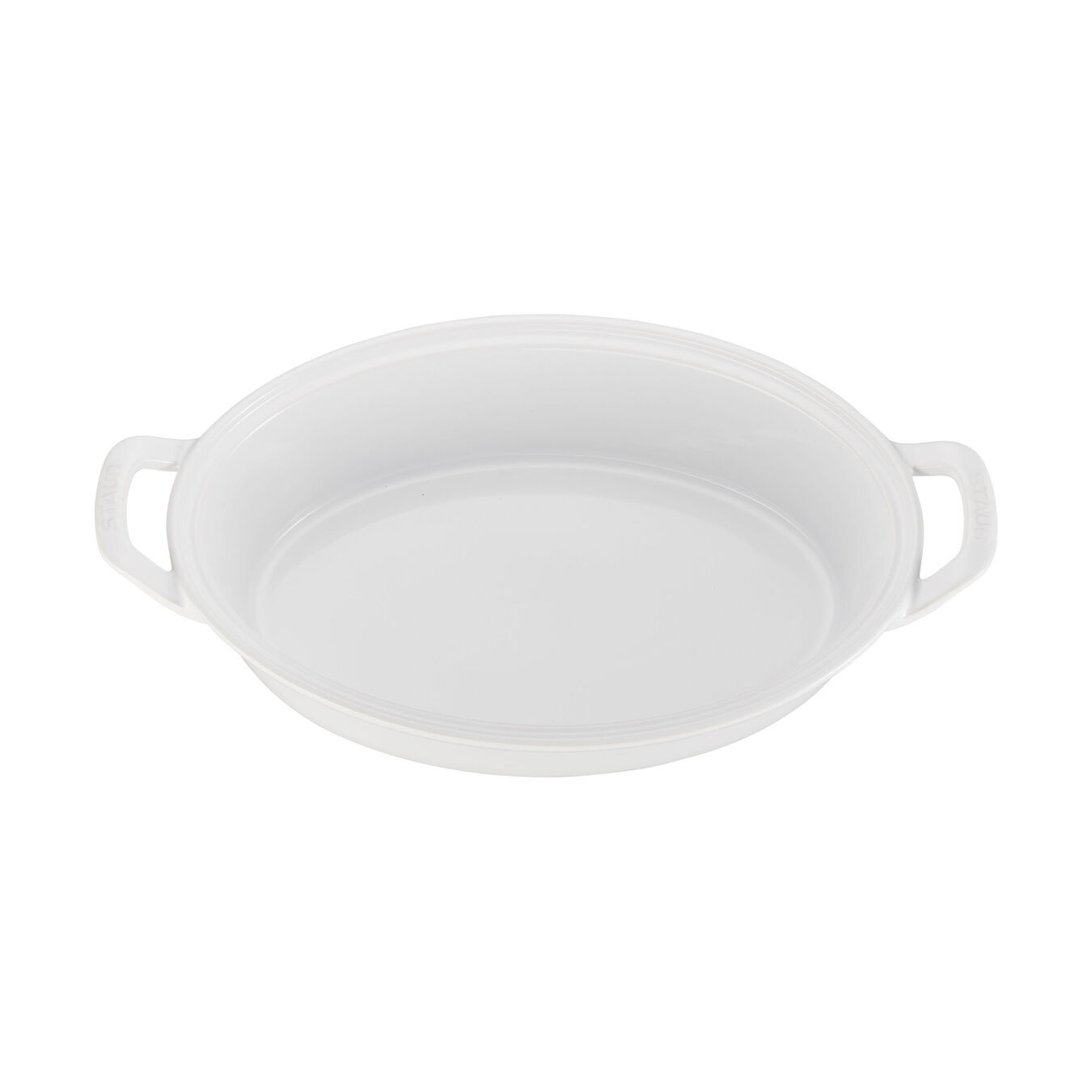 Special shape bakeware, white,,large 2