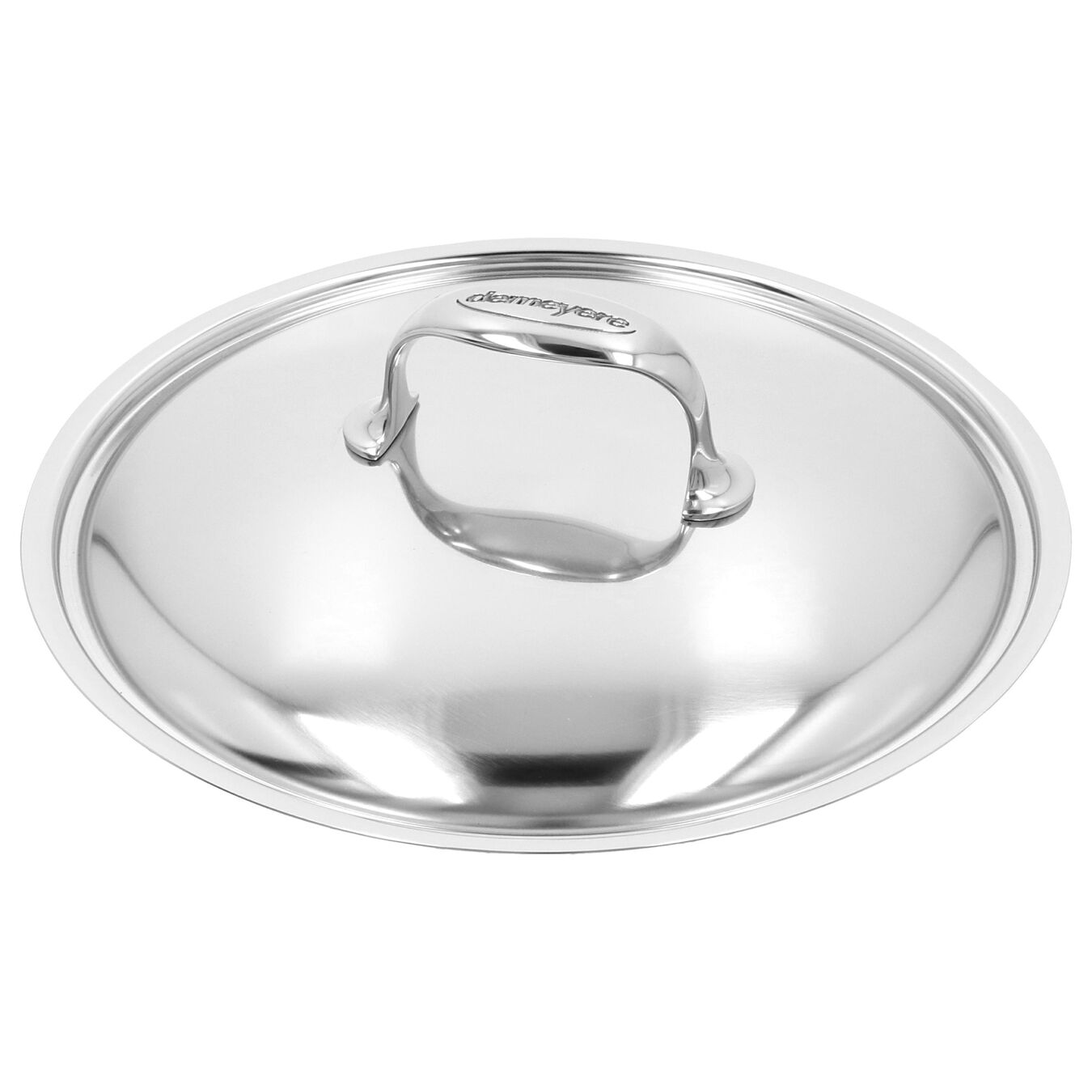 9.5-inch Sauté Pan with Helper Handle and Lid, 18/10 Stainless Steel ,,large 5