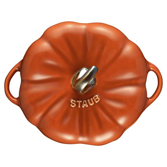 0.5-qt Pumpkin Cocotte, Burnt Orange,,large 11