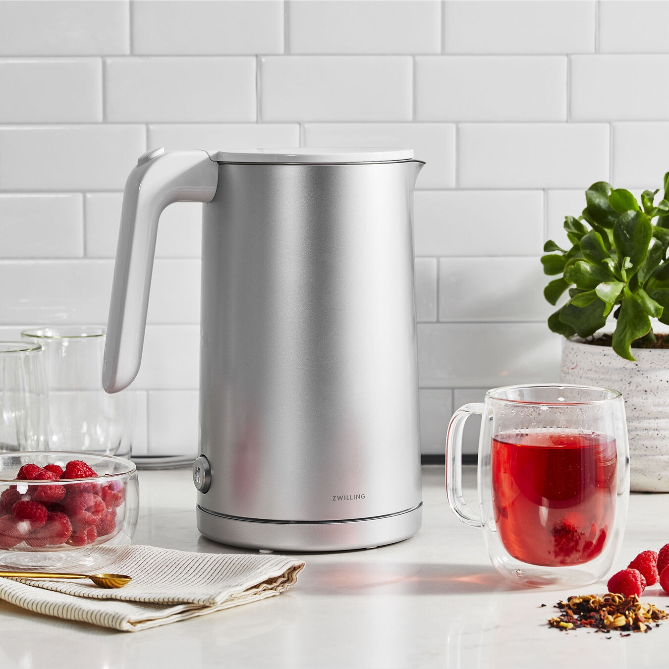 Electric kettle, Plastic | Silver | US/CA,,large 6