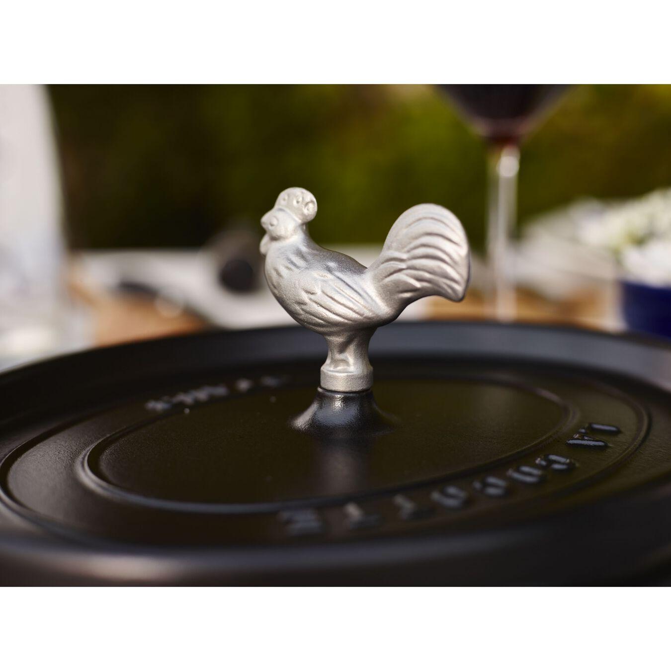 Pomello pollo - 7 cm, acciaio inox,,large 3