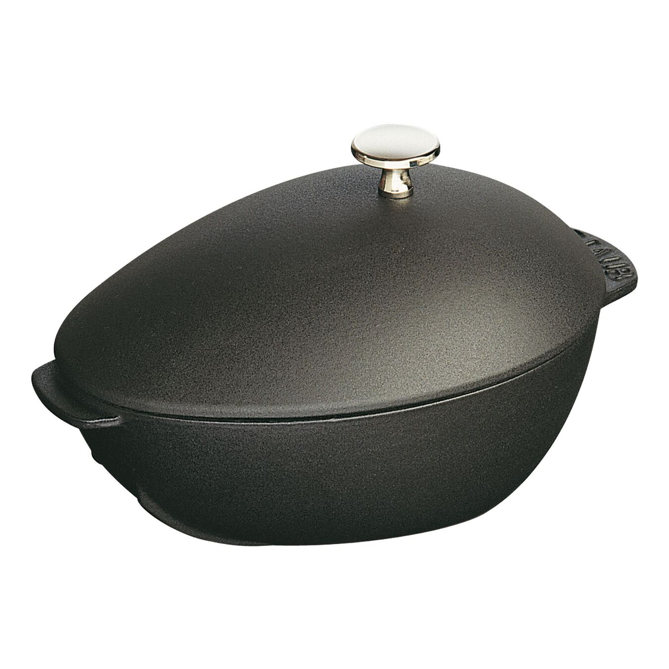 Cozziera ovale - 25 cm, nero,,large 3