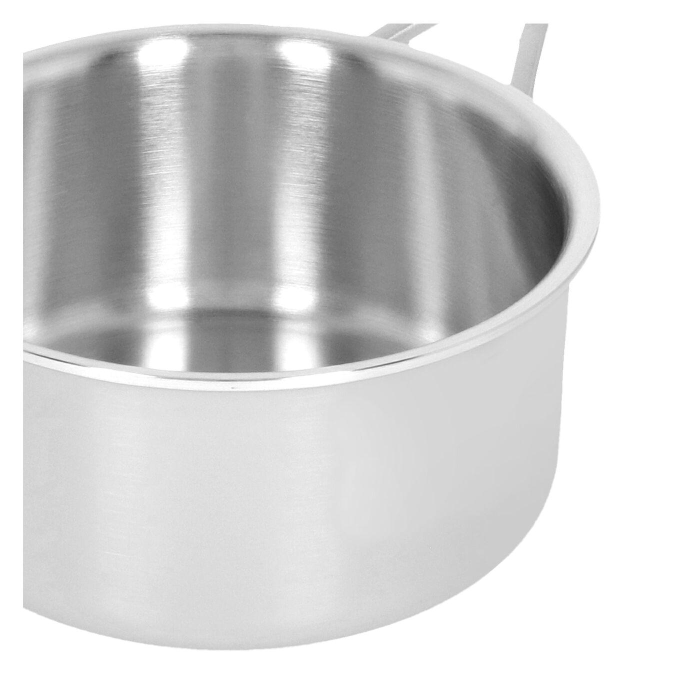 Kasserolle Uden låg 16 cm, 18/10 rustfrit stål,,large 2
