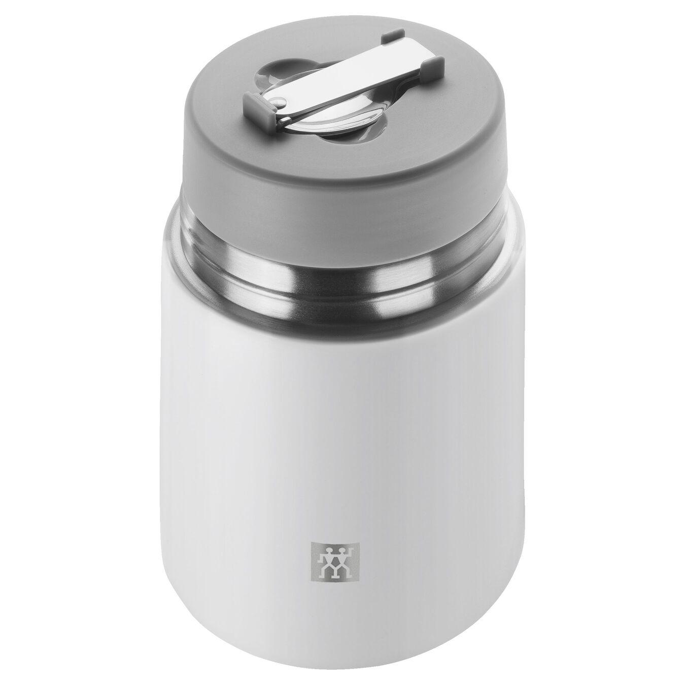 Recipiente alimentare - 700 ml, acciaio inox, bianco,,large 3
