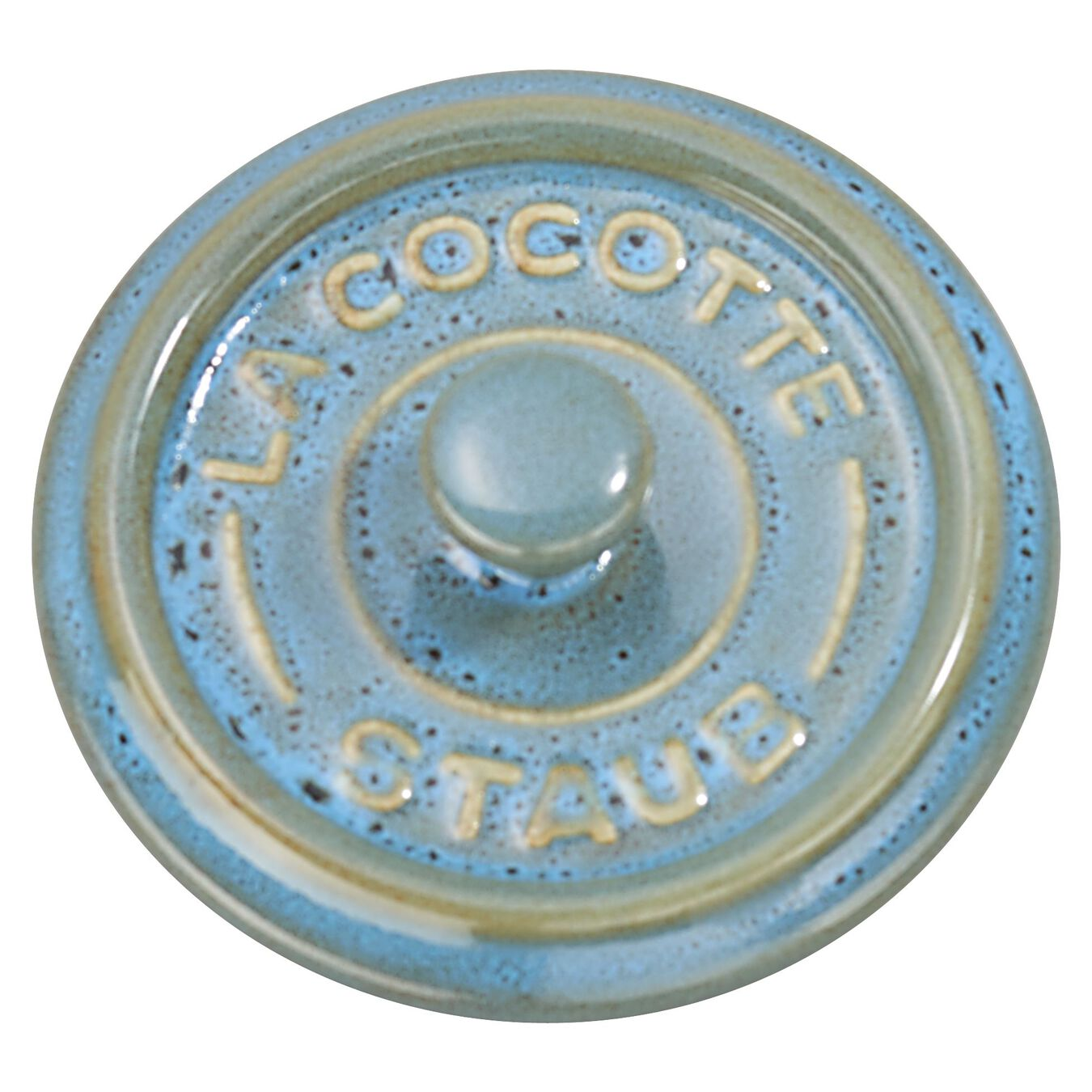 3-pc, Cocotte set, rustic turquoise,,large 5