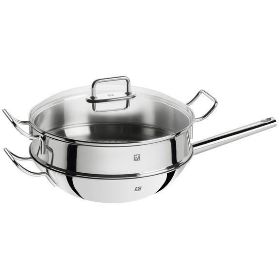 Buharda Pişirme Aparatı, Yuvarlak | 32 cm | Metalik Gri,,large 4