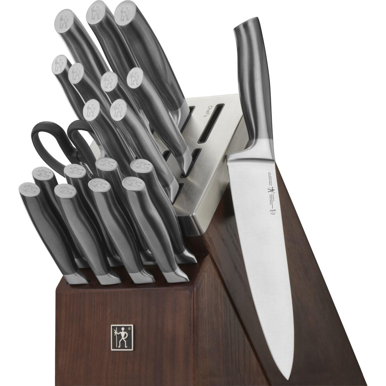 20-pc, Self-Sharpening Knife Block Set,,large 1