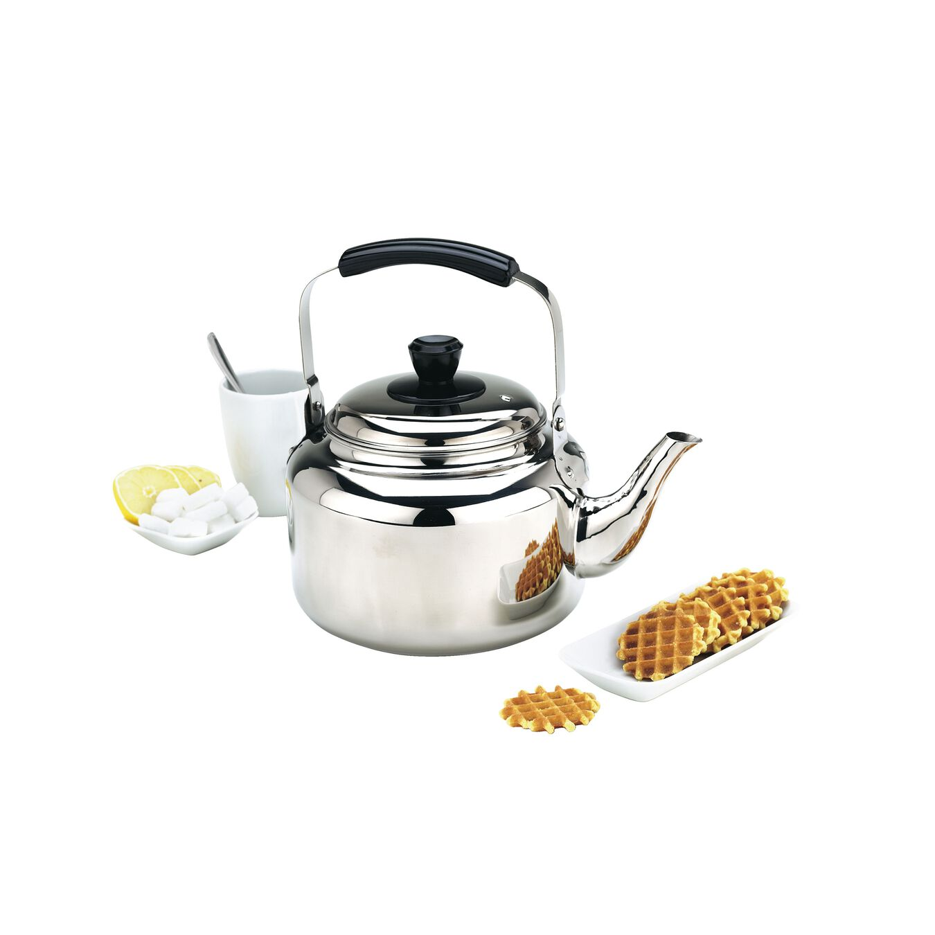 4.25 qt Kettle, 18/10 Stainless Steel ,,large 2
