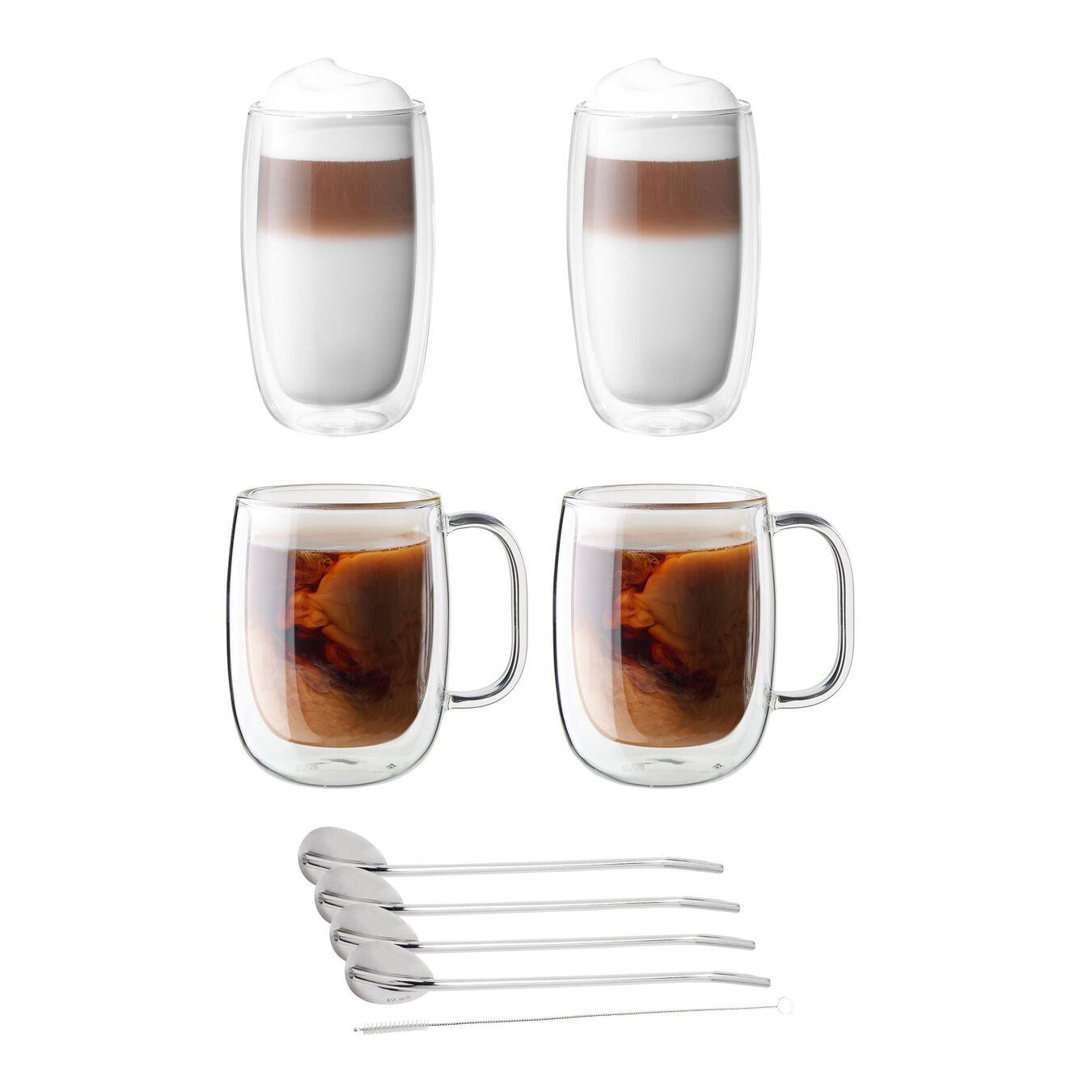 9-pc, Coffee glass set,,large 1