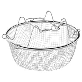 ZWILLING EcoQuick, Cestello per friggere - 22 cm, 18/10 acciaio inossidabile