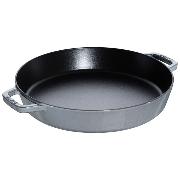 13.5-inch Enamel Frying pan,,large