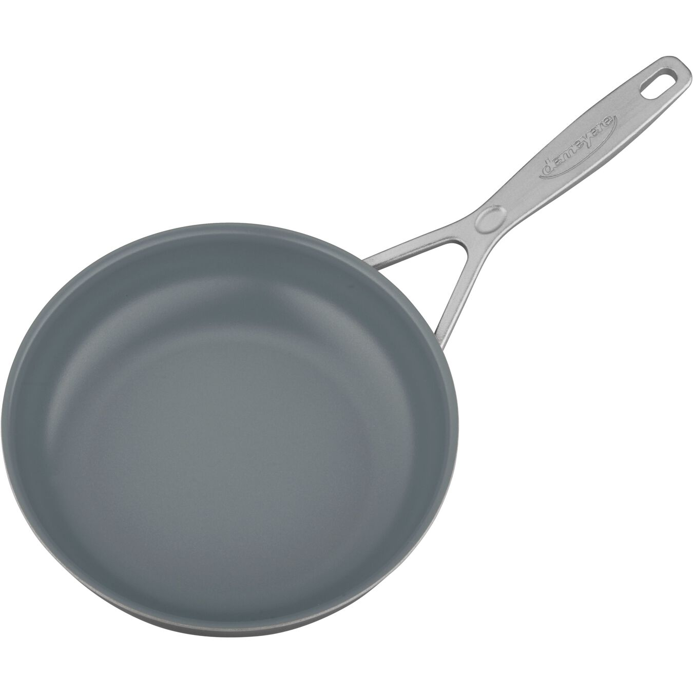 8-inch, 18/10 Stainless Steel, Ceramic, Frying pan,,large 3