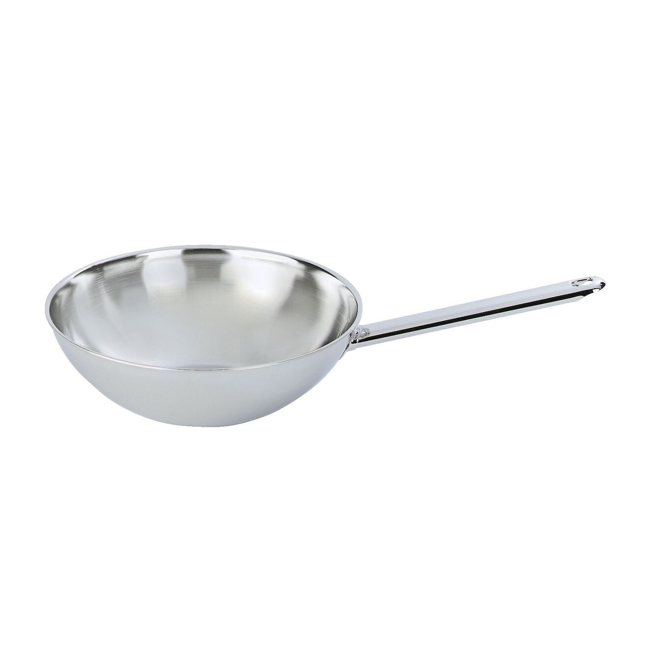 Wok without lid 26 cm, Inox 18/10,,large 1