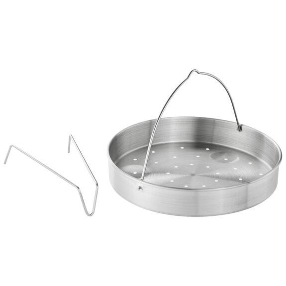 Buharda Pişirme Aparatı, Yuvarlak | 22 cm | Metalik Gri,,large 3