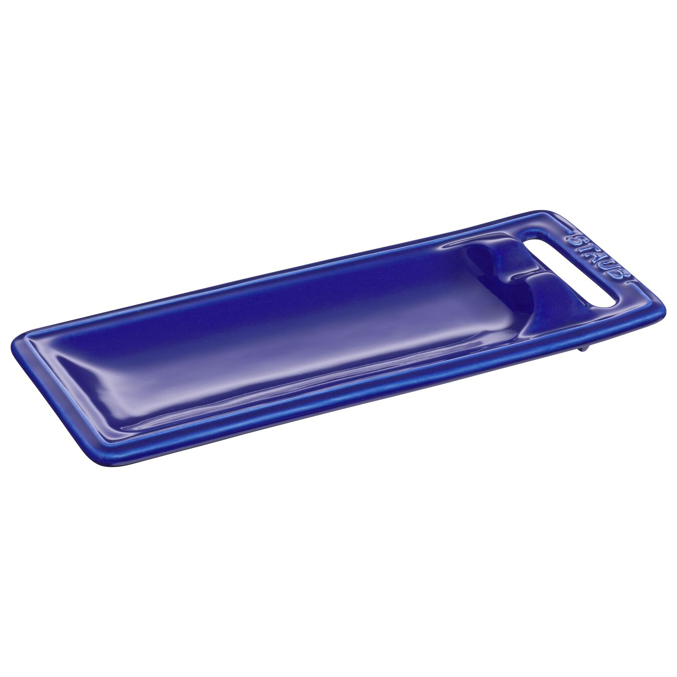 25 cm x 10 cm Spoon rest, dark-blue,,large 1