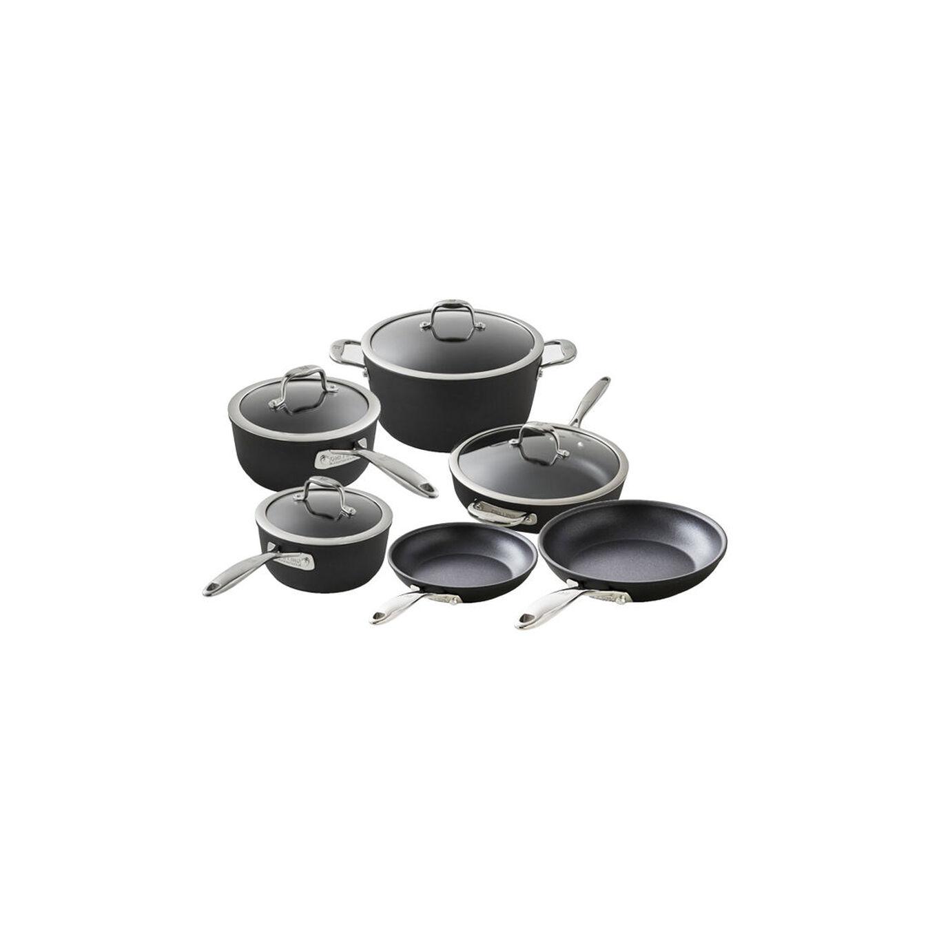 10-pcs Aluminum Ensemble de casseroles et poêles,,large 1