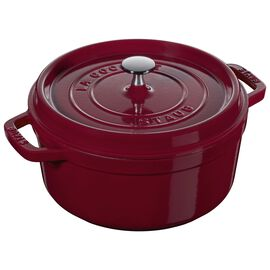Staub La Cocotte, 3,75 l Cast iron round Faitout, Bordeaux - Visual Imperfections