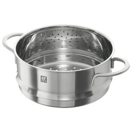 ZWILLING TWIN NOVA, Buharda Pişirme Aparatı, Yuvarlak | 20 cm | Metalik Gri