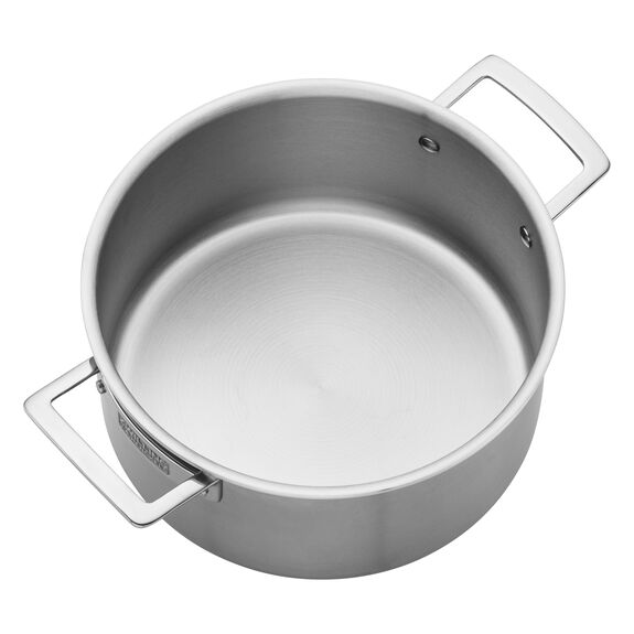 Stainless Steel 5.5-Qt. Dutch Oven,,large 2