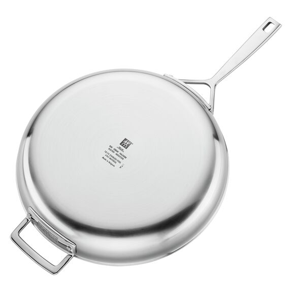 12-inch 18/10 Stainless Steel Frying pan,,large 3