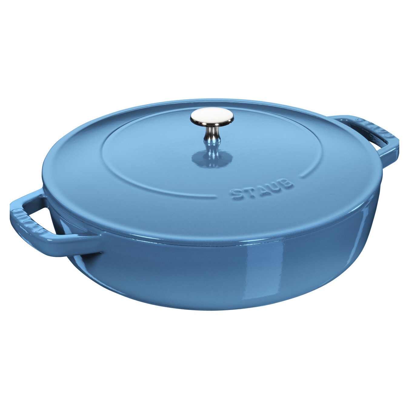 3.75 l round Saute pan Chistera, ice-blue,,large 2