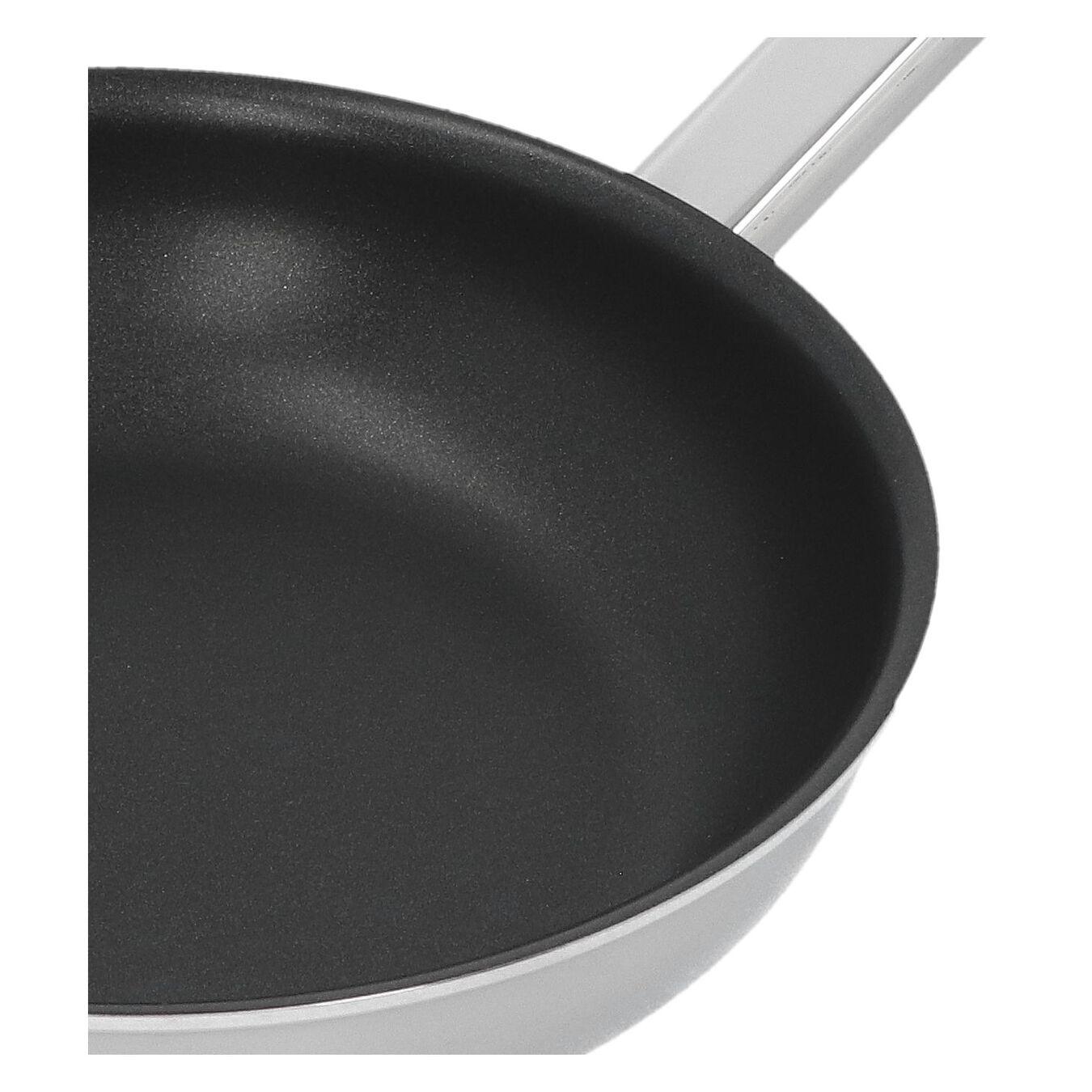 Poêle 20 cm, Inox 18/10, Noir argenté,,large 2