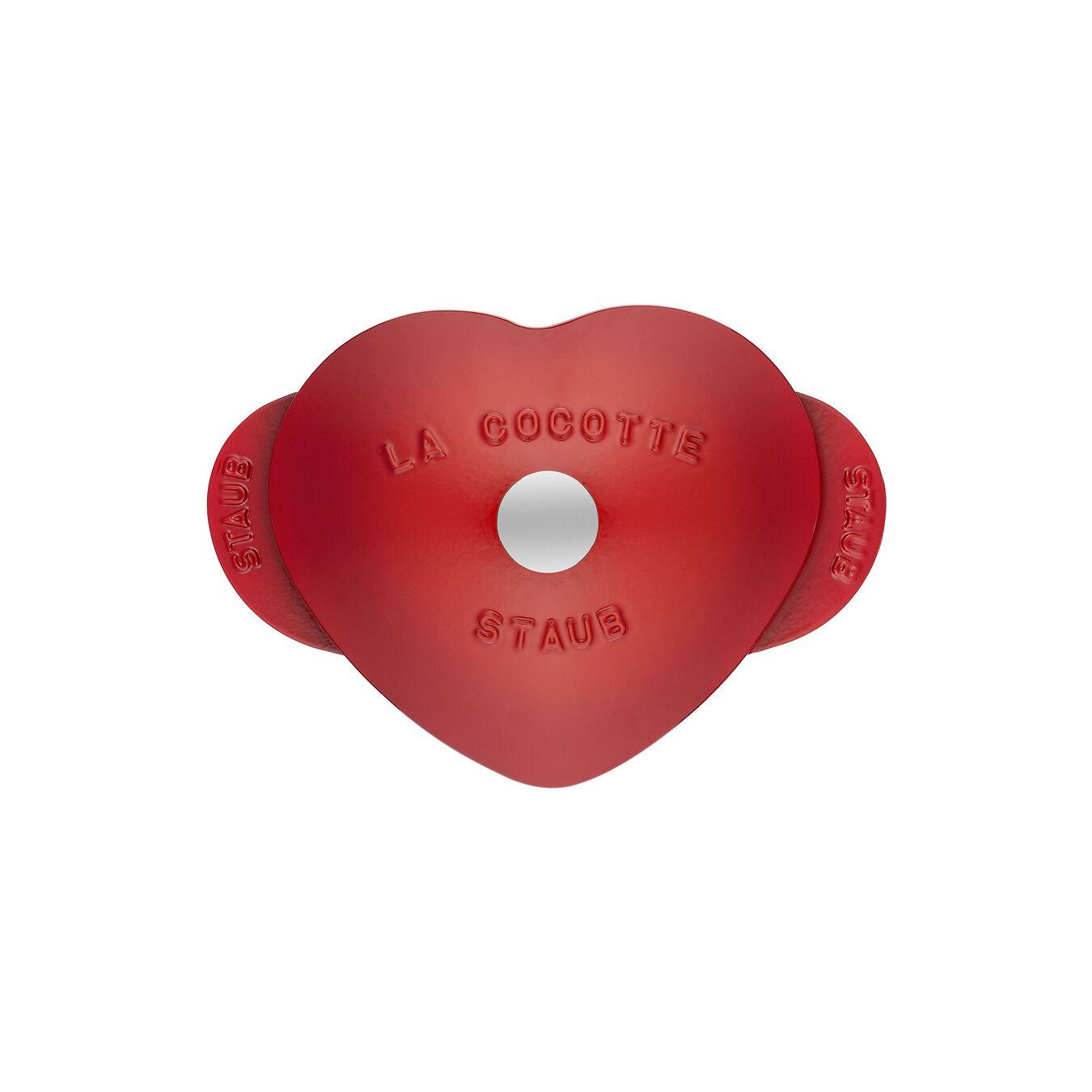 1.75-qt Heart Cocotte - Cherry,,large 2