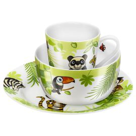 ZWILLING Kids Jungle, 3-pc Children's Dinnerware Set