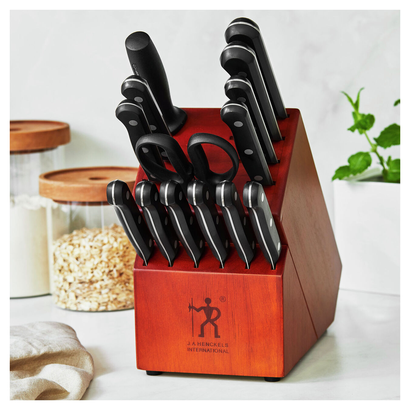 15-pc, Knife block set,,large 2