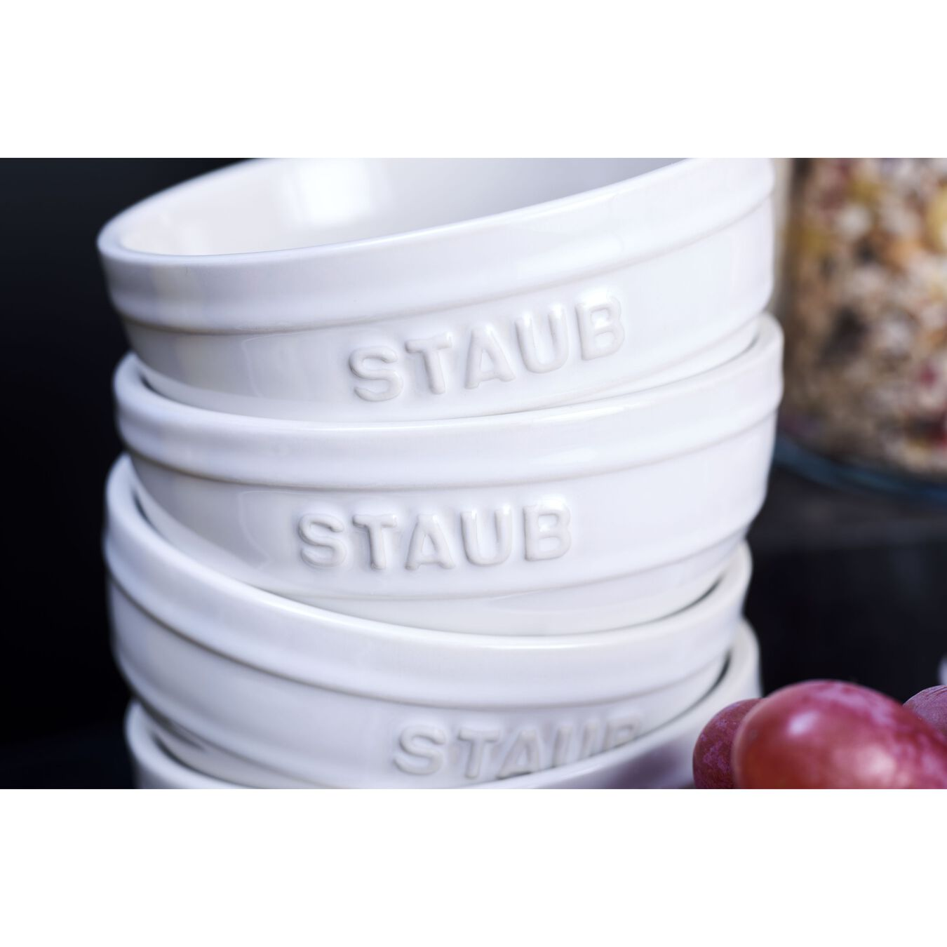 2-pc, Large Universal Bowl Set, white,,large 2