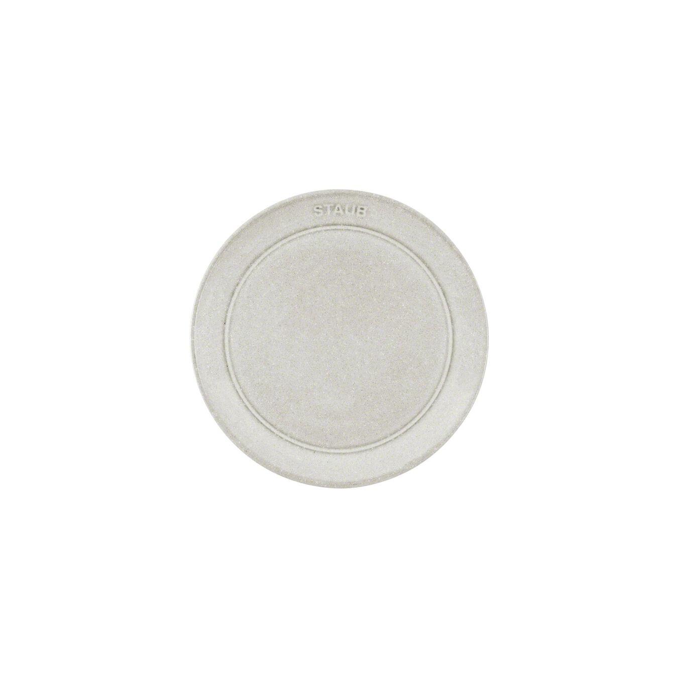 Tabak Sığ, 15 cm | Trüf Beyazı | Seramik | Yuvarlak | Seramik,,large 3