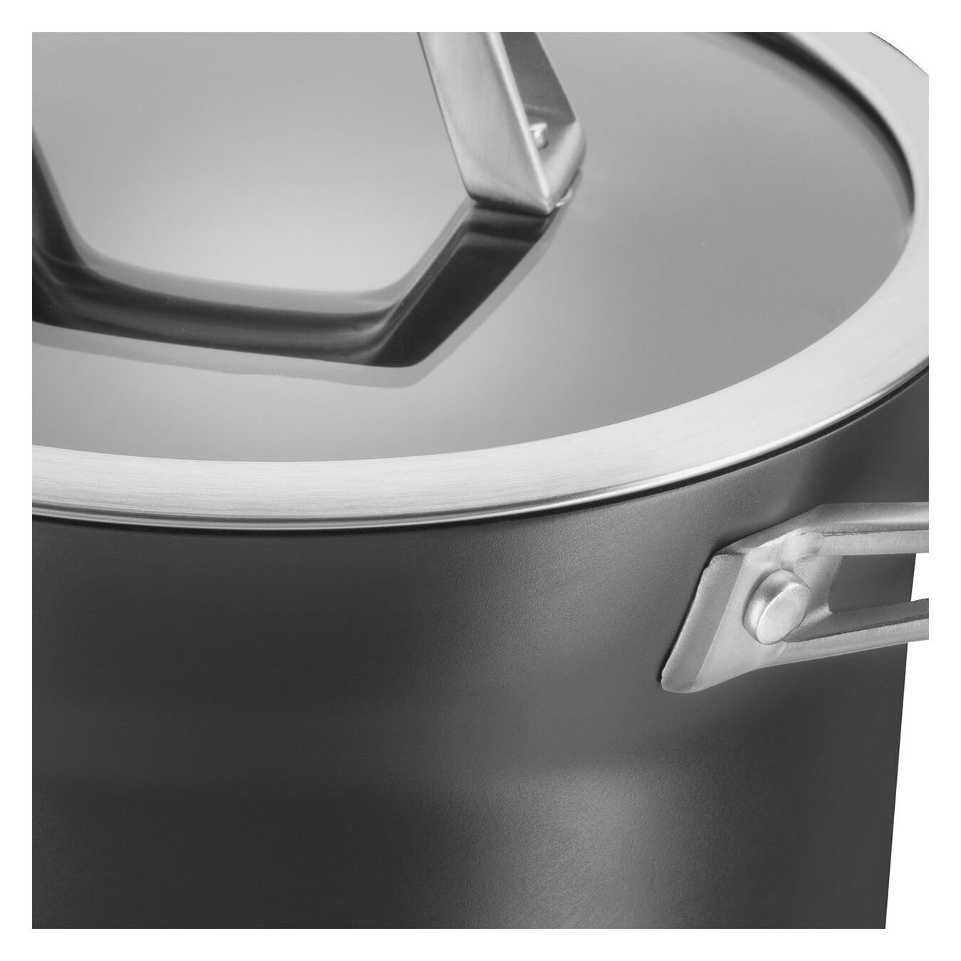 4-qt Aluminum Nonstick Soup Pot,,large 6