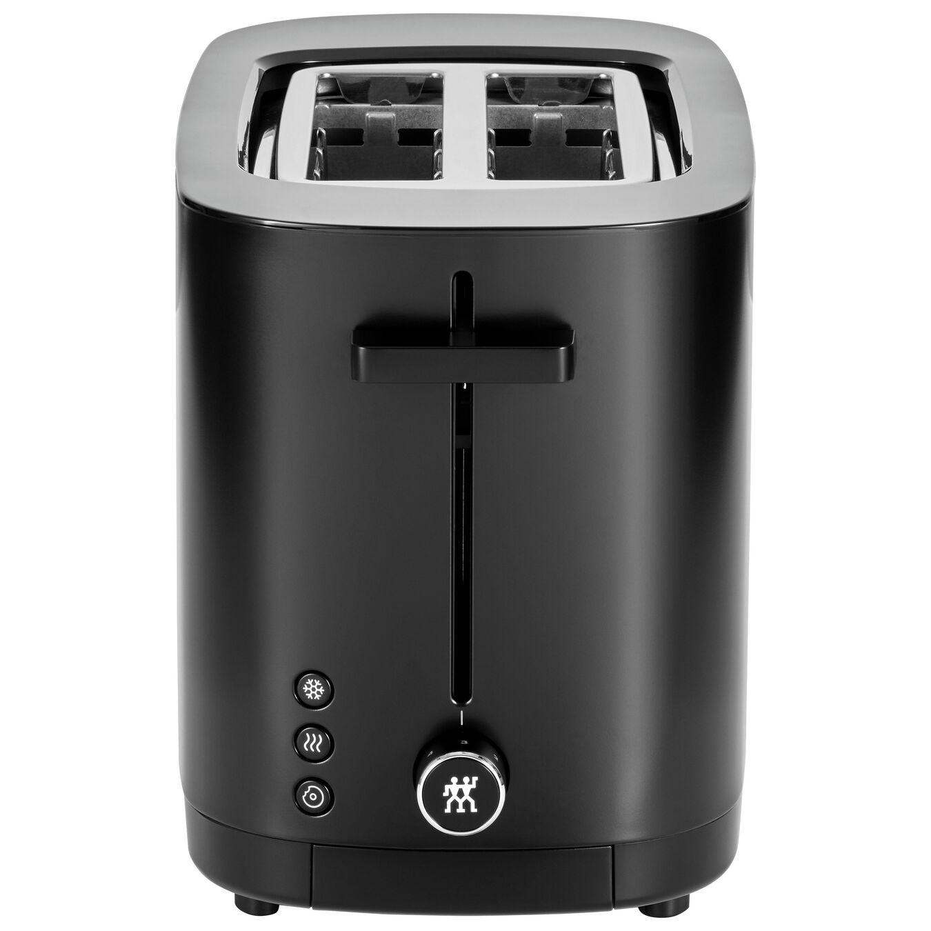 2 short  slots Toaster - black,,large 3