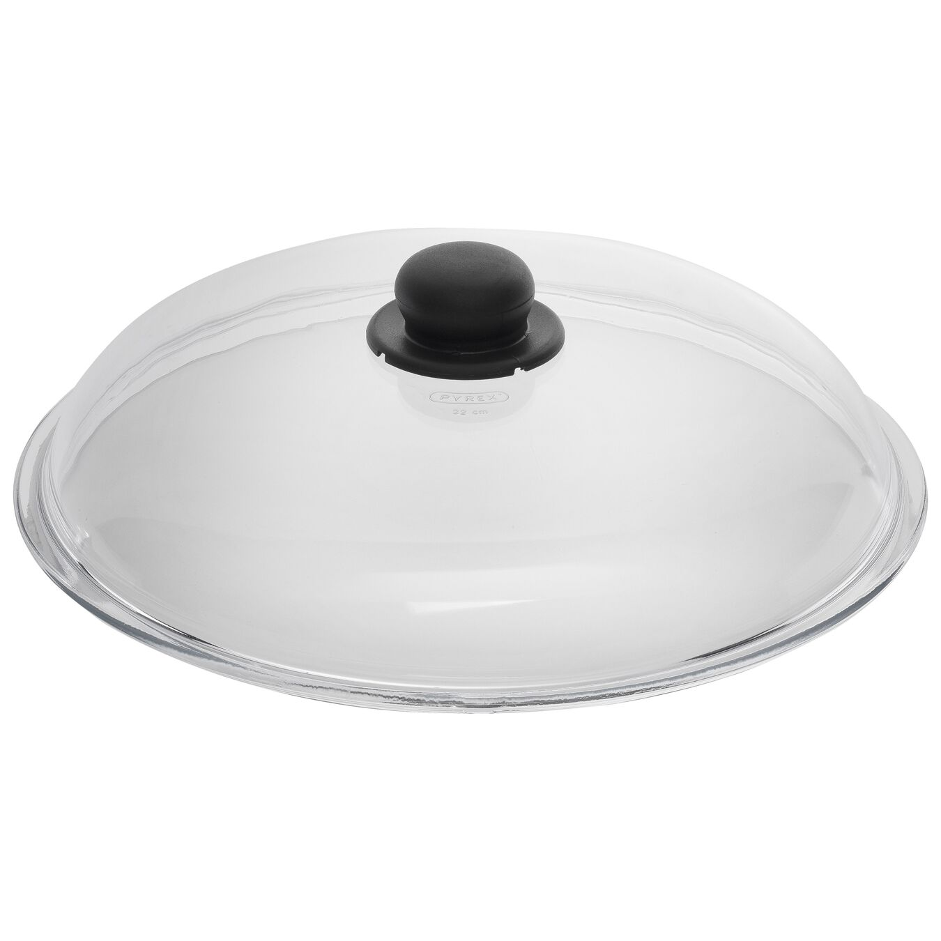 Lid, 32 cm | round | Glass,,large 1