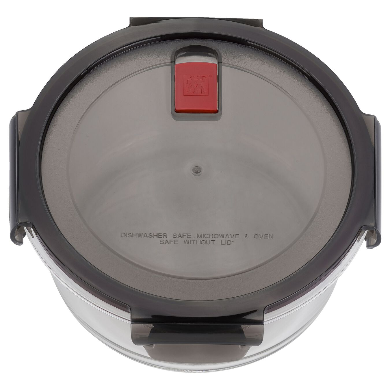 1.25 l Glass Storage Container, Round,,large 3