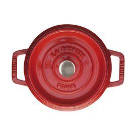 Staub La Cocotte, Cocotte 20 cm, rund, Kirsch-Rot, Gusseisen