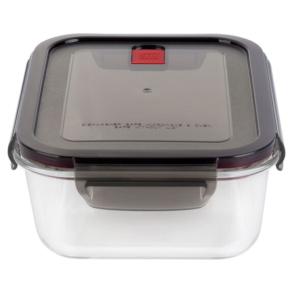 47.32-fl-oz Borosilicate glass Storage jar,,large
