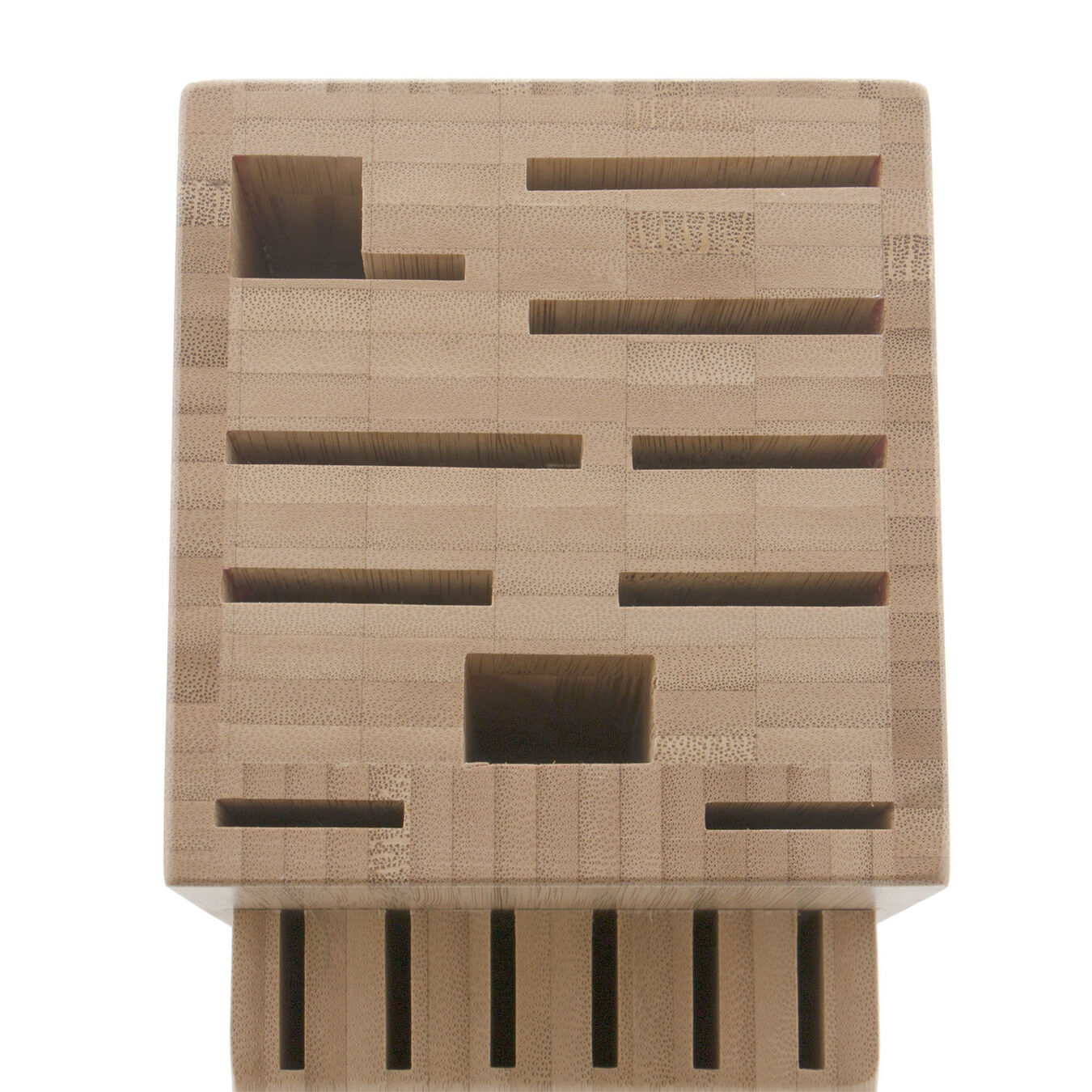 bamboo, TWIN Knife block empty,,large 3