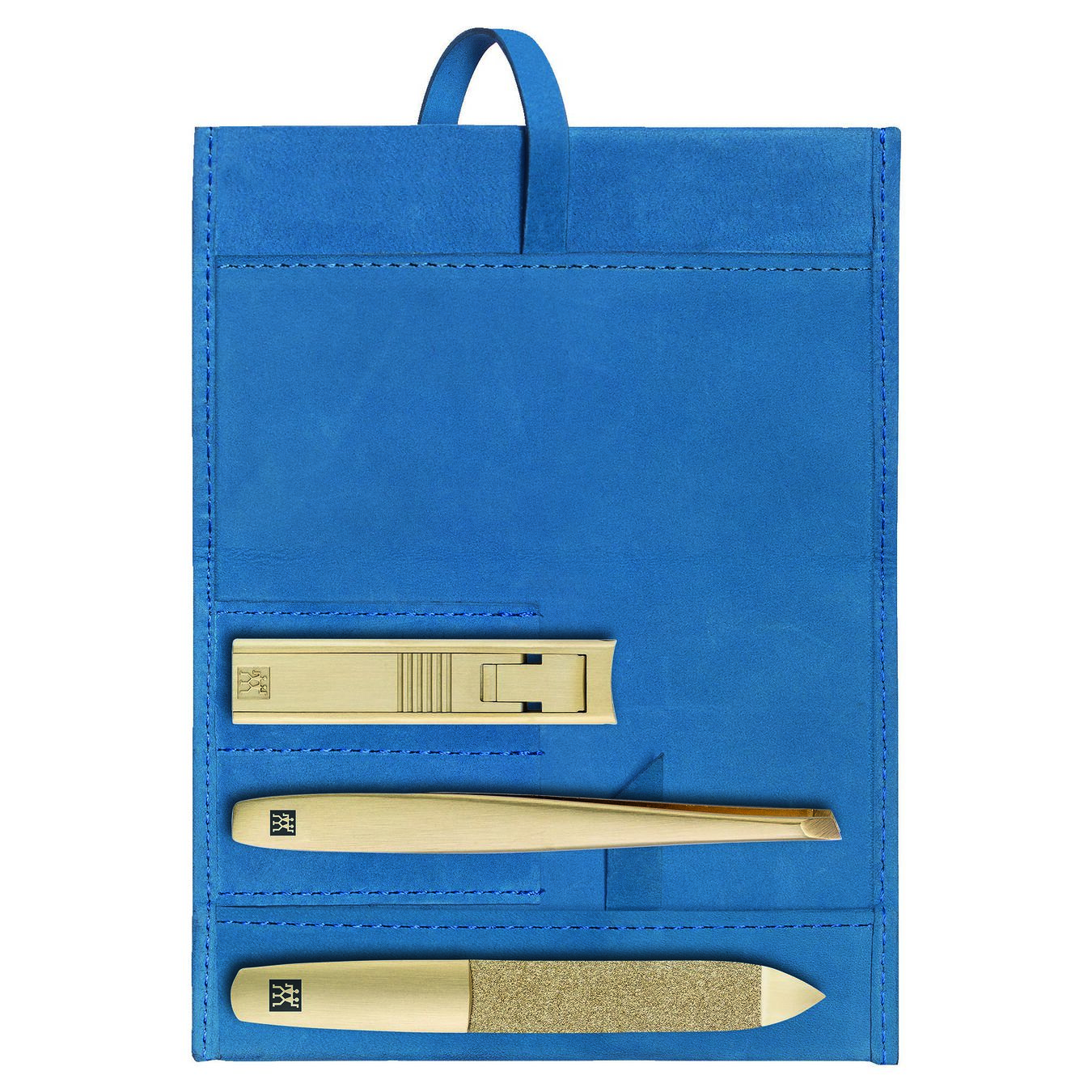 4-pc, Leather case,,large 1