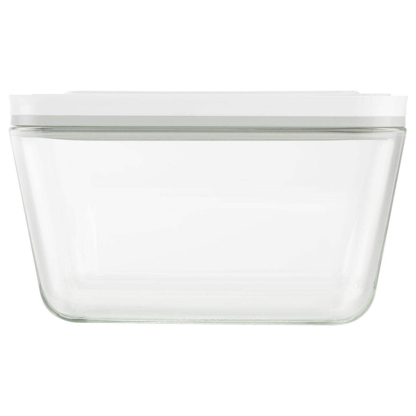 large Vacuum Container, glass, grey,,large 3