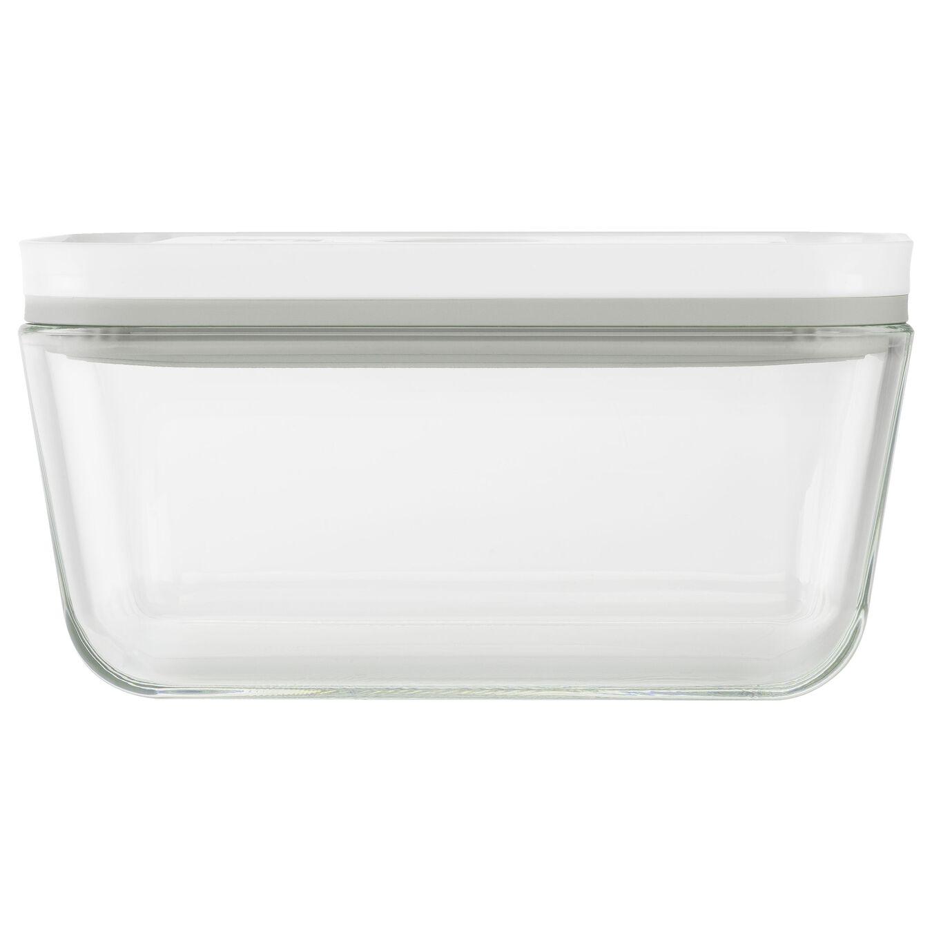 Contenitore sottovuoto - M, vetro borosilicato, bianco,,large 3
